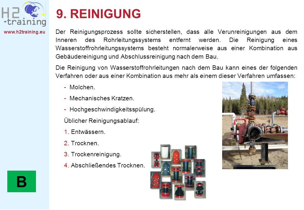 9. REINIGUNG