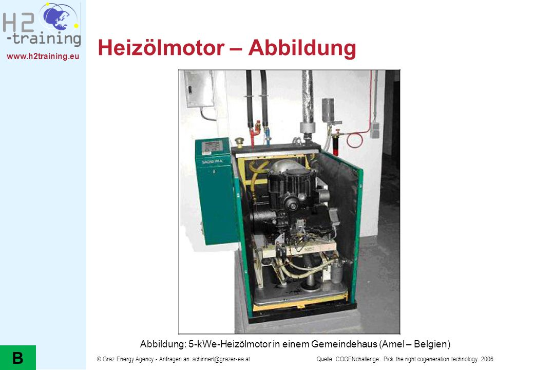 Heizölmotor – Abbildung