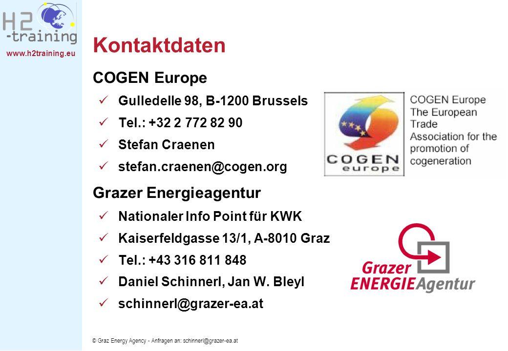 Kontaktdaten COGEN Europe Grazer Energieagentur