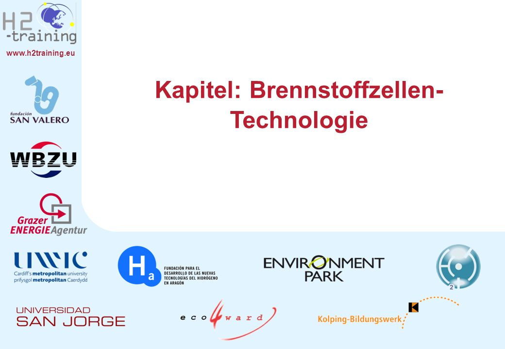 Kapitel: Brennstoffzellen-Technologie