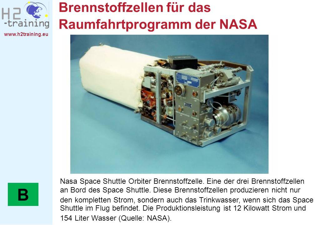 Brennstoffzellen für das Raumfahrtprogramm der NASA