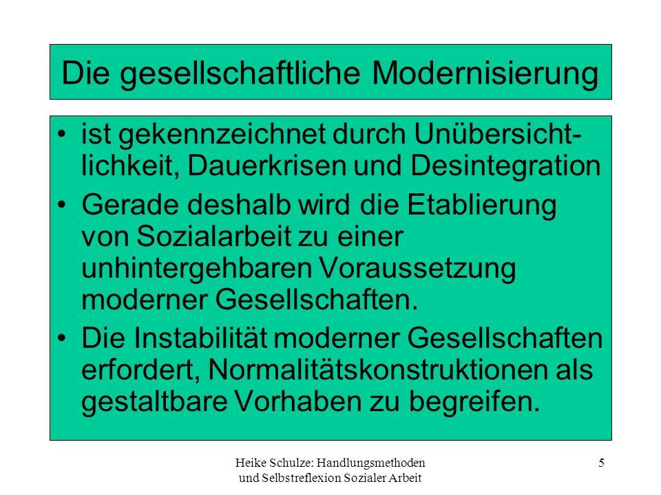 Die gesellschaftliche Modernisierung