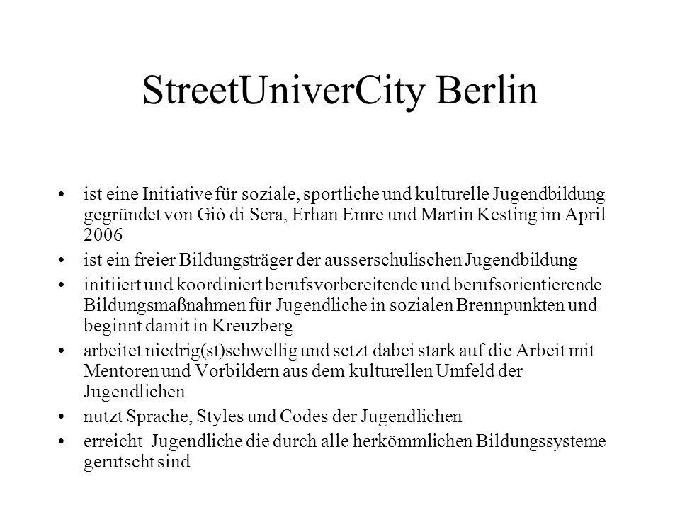 StreetUniverCity Berlin