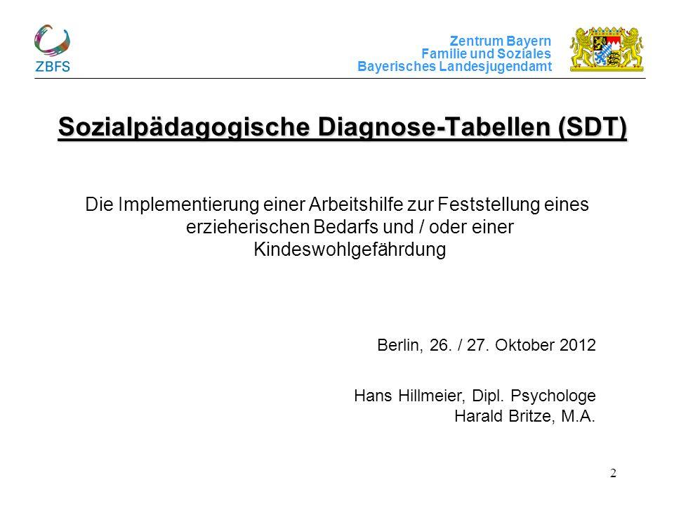 Sozialpädagogische Diagnose-Tabellen (SDT)