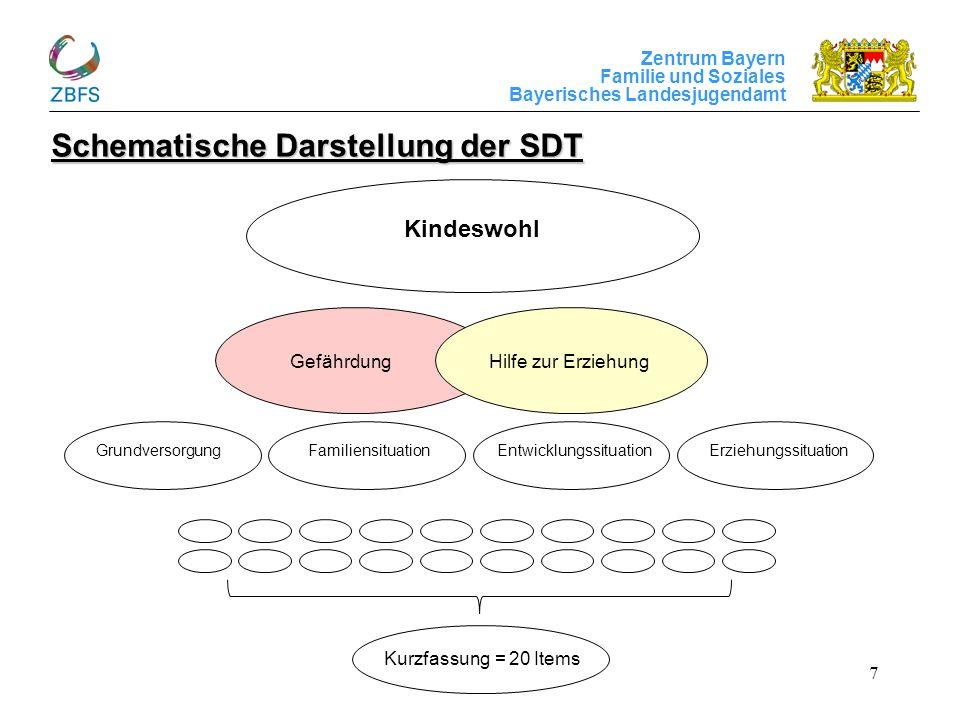 Schematische Darstellung der SDT