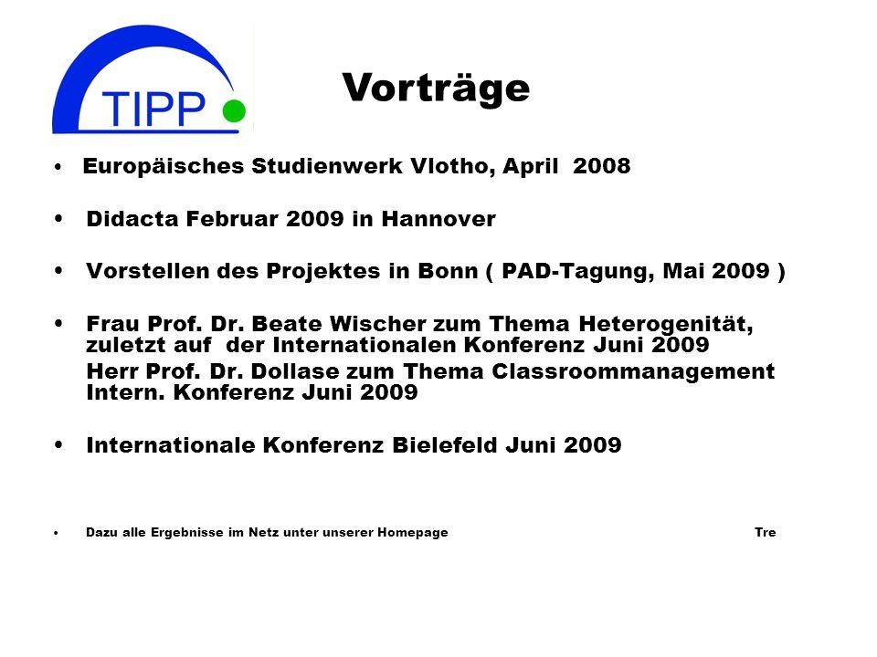 Vorträge • Didacta Februar 2009 in Hannover