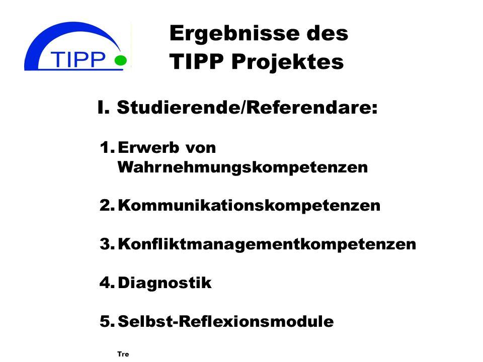 Ergebnisse des TIPP Projektes