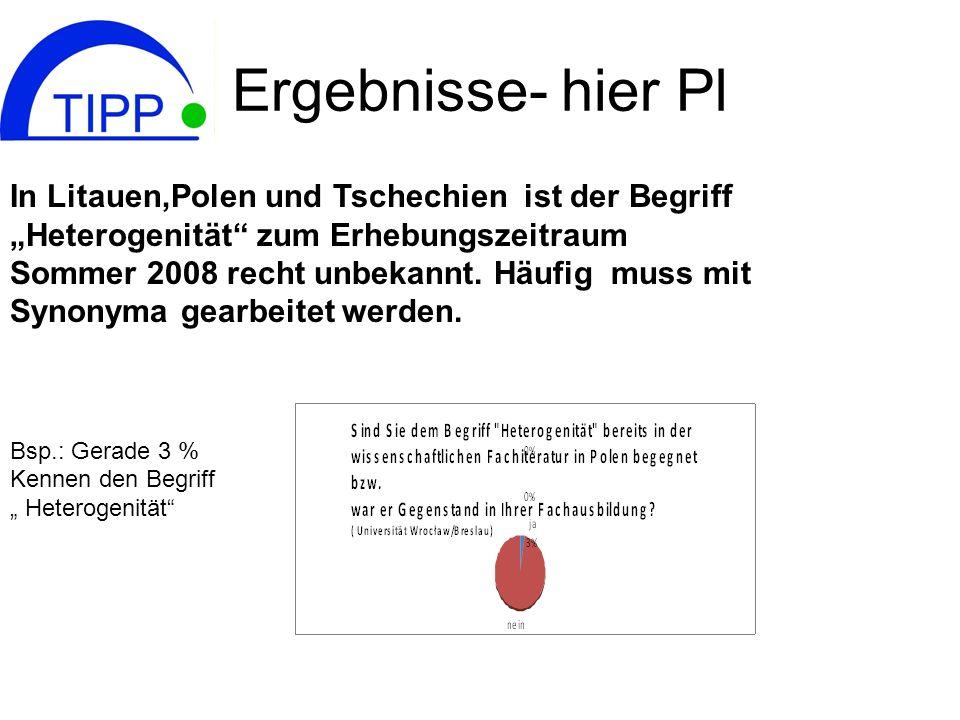 Ergebnisse- hier Pl In Litauen,Polen und Tschechien ist der Begriff