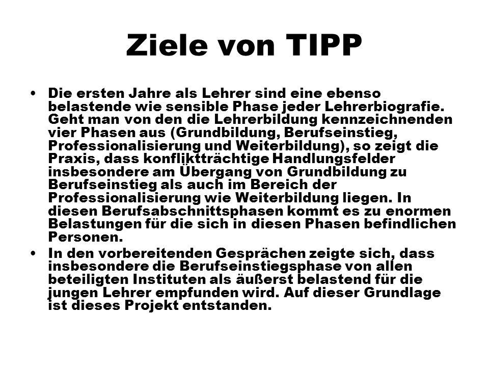 Ziele von TIPP