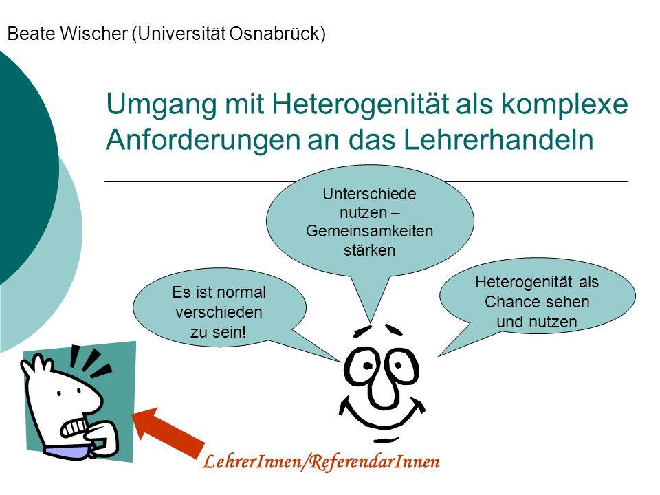 Beate Wischer (Universität Osnabrück)