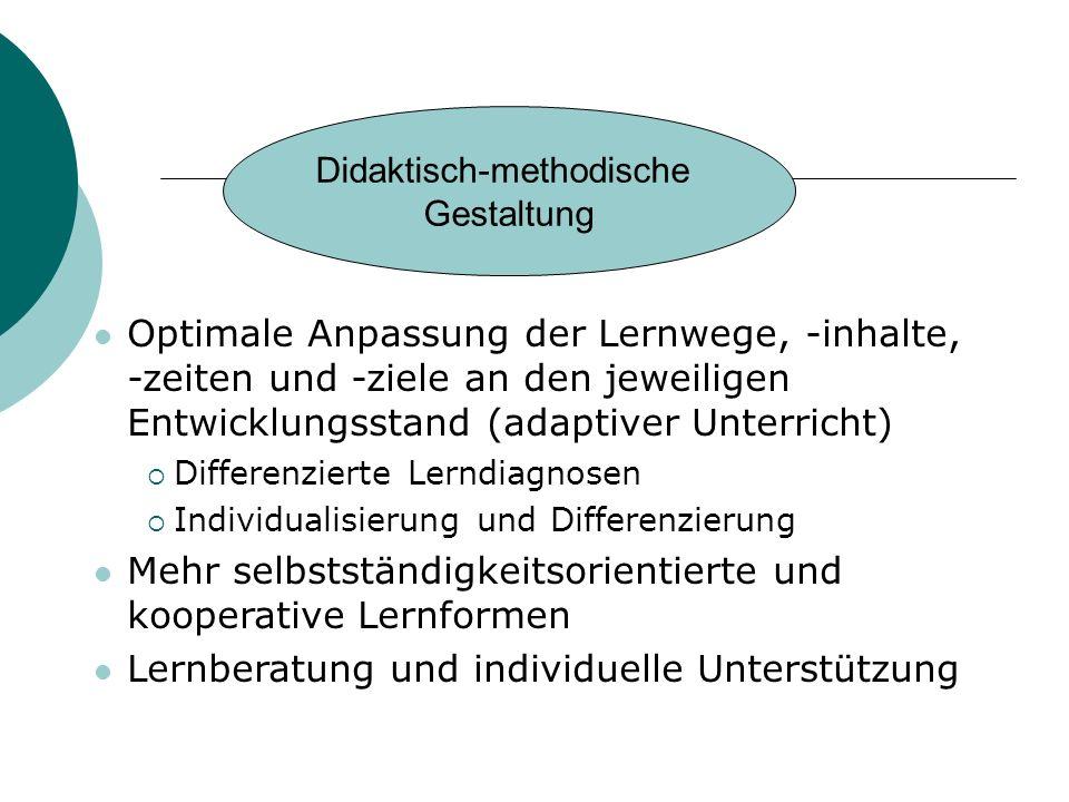 Didaktisch-methodische
