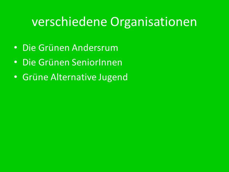 verschiedene Organisationen