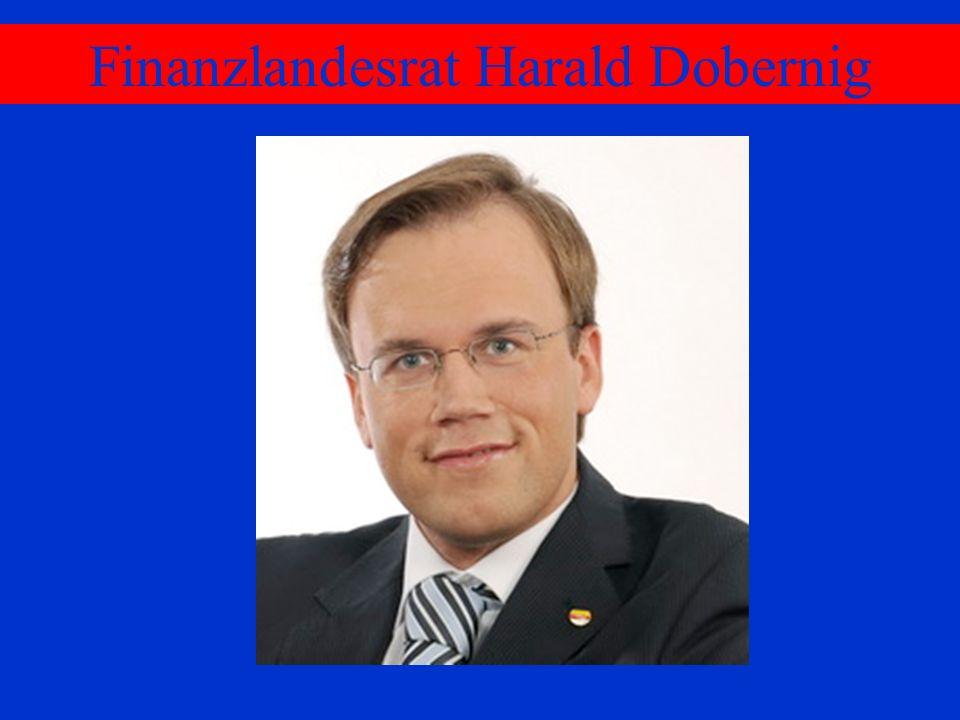 Finanzlandesrat Harald Dobernig