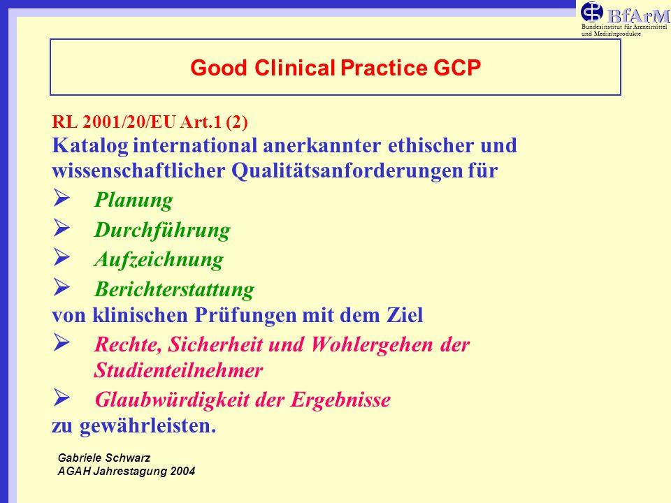 Good Clinical Practice GCP