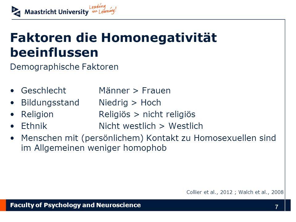 Faktoren die Homonegativität beeinflussen