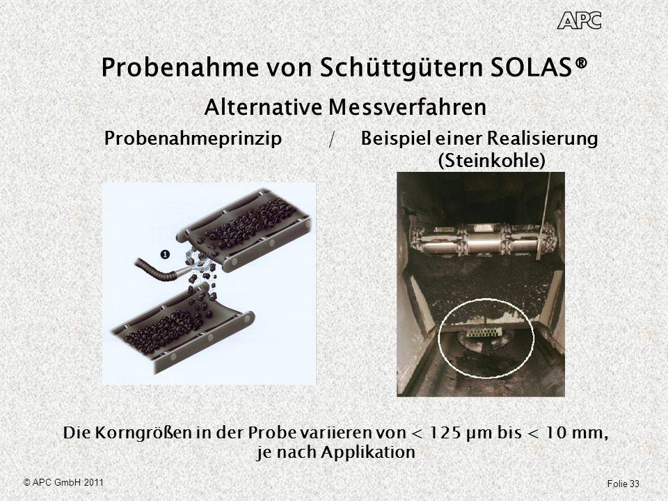 Probenahme von Schüttgütern SOLAS®