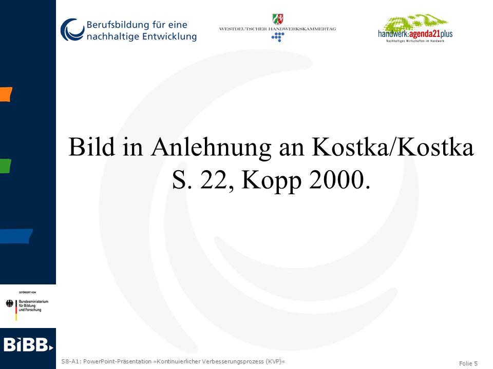 Bild in Anlehnung an Kostka/Kostka S. 22, Kopp 2000.