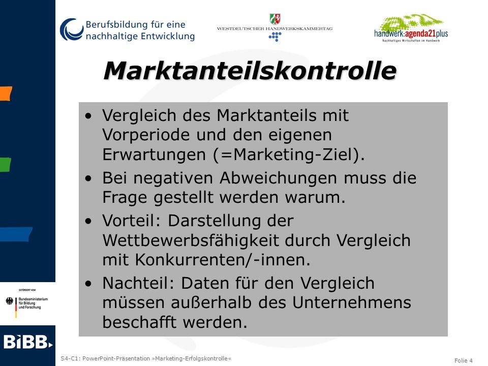 Marktanteilskontrolle