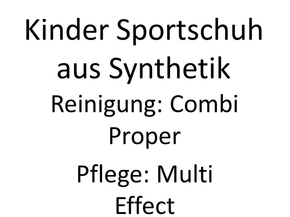 Kinder Sportschuh aus Synthetik