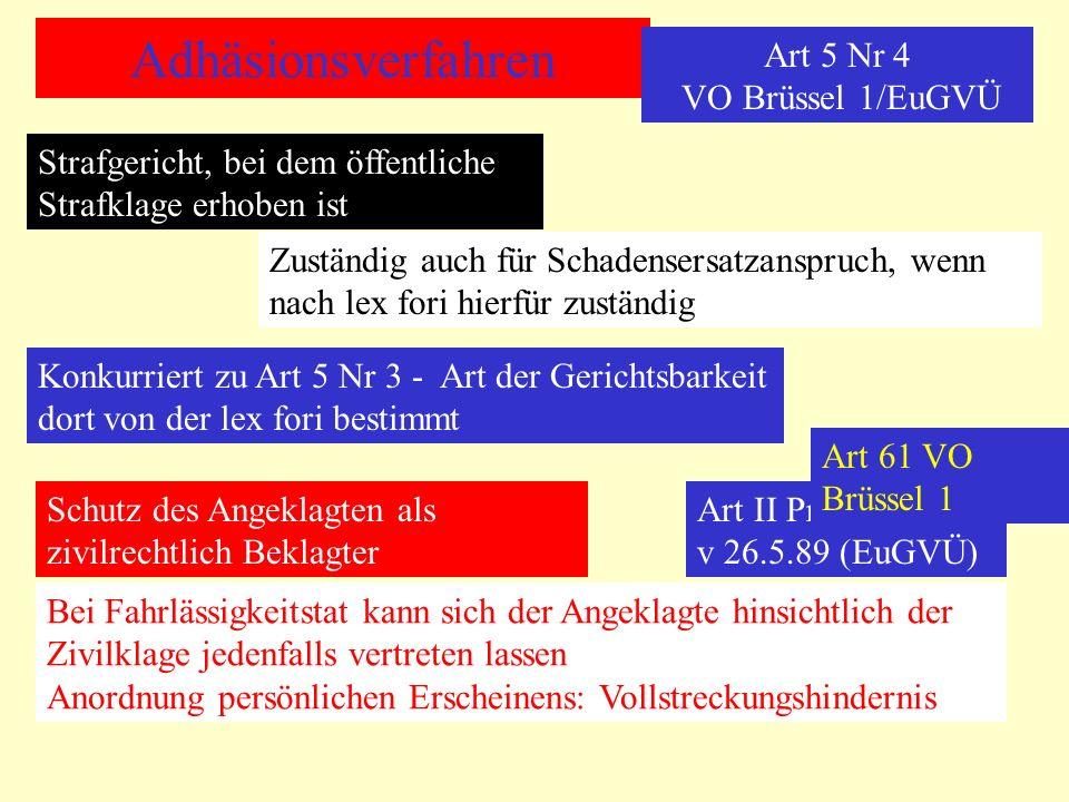 Art 5 Nr 4 VO Brüssel 1/EuGVÜ
