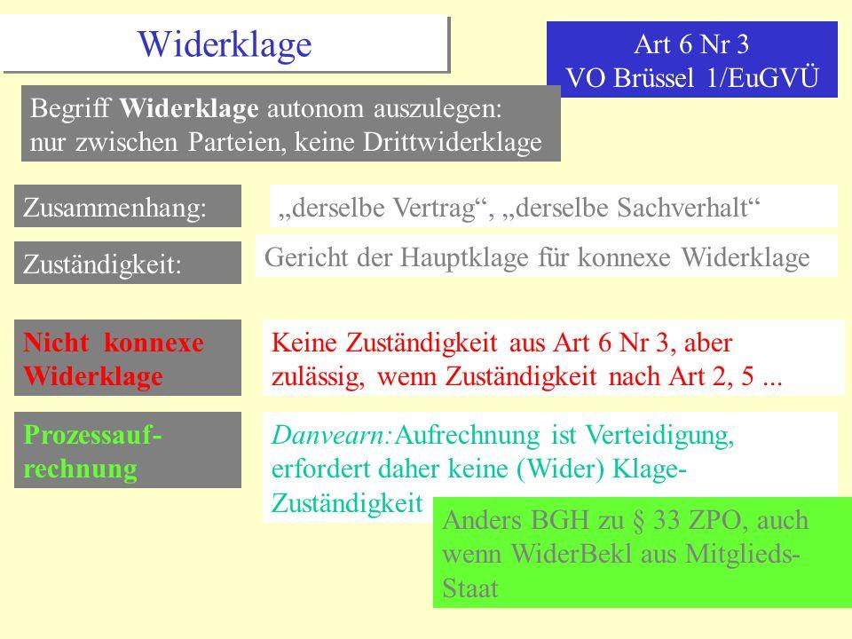 Art 6 Nr 3 VO Brüssel 1/EuGVÜ