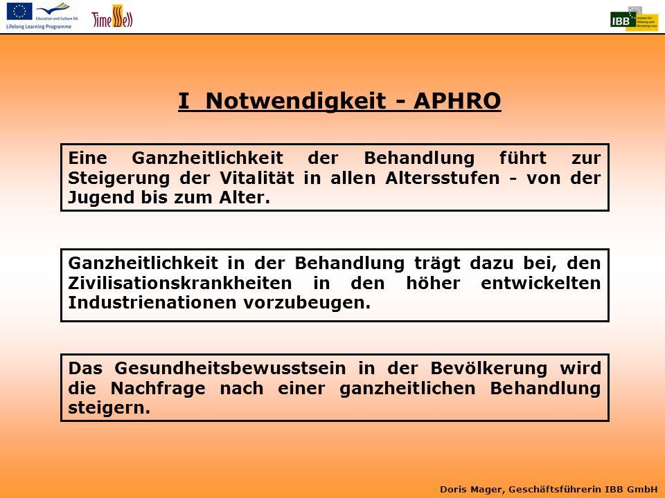 I Notwendigkeit - APHRO