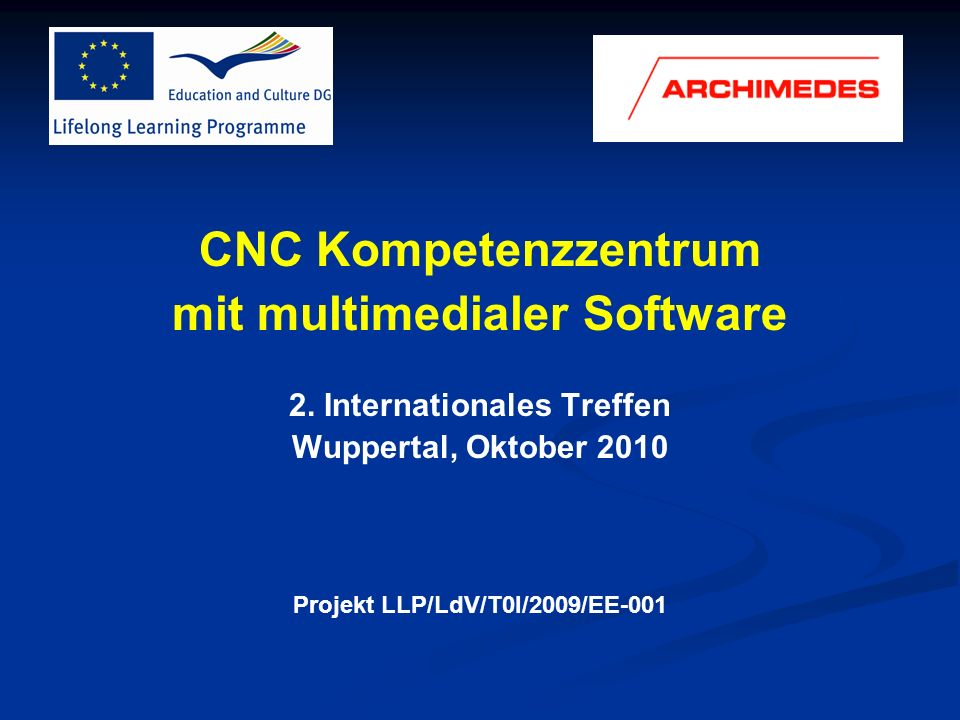 CNC Kompetenzzentrum mit multimedialer Software
