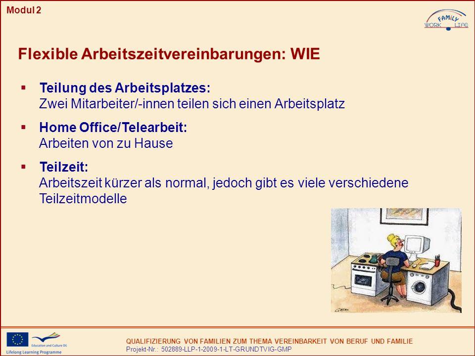 Flexible Arbeitszeitvereinbarungen: WIE