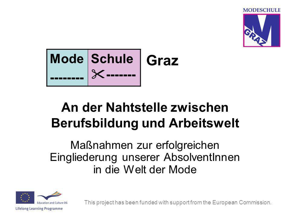 Graz An der Nahtstelle zwischen Berufsbildung und Arbeitswelt