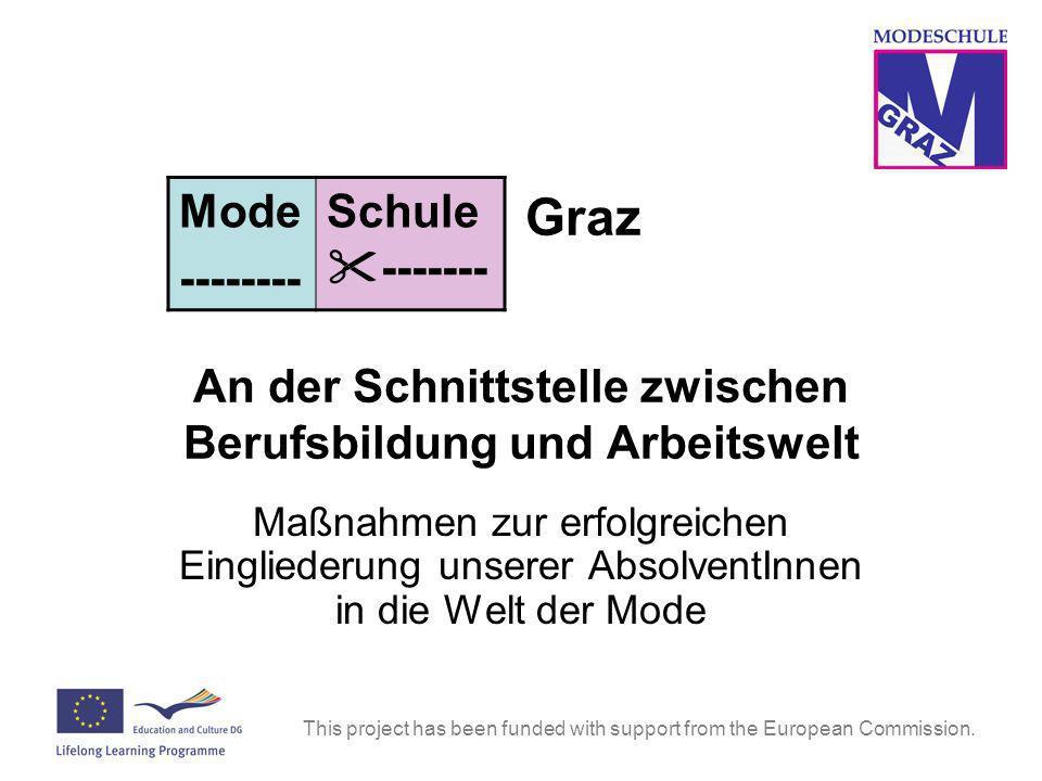 Graz An der Schnittstelle zwischen Berufsbildung und Arbeitswelt