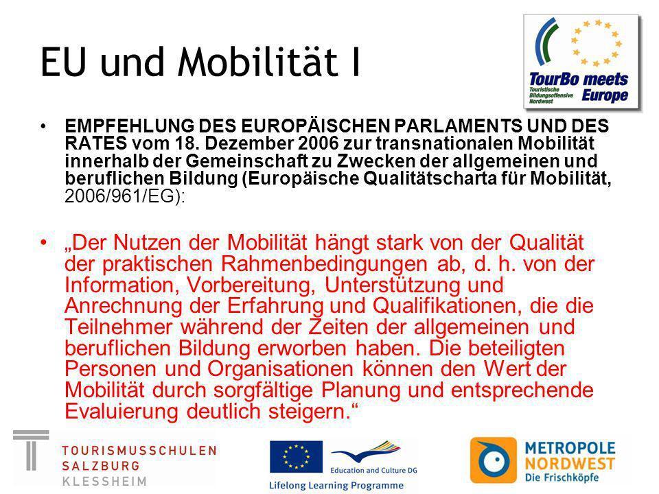 EU und Mobilität I
