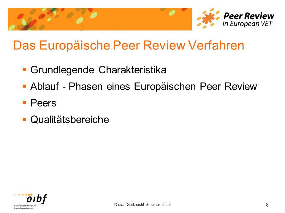 Das Europäische Peer Review Verfahren