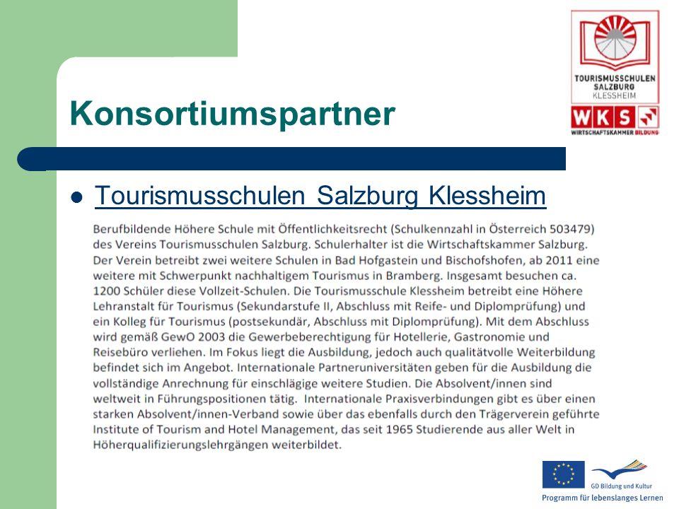 Konsortiumspartner Tourismusschulen Salzburg Klessheim