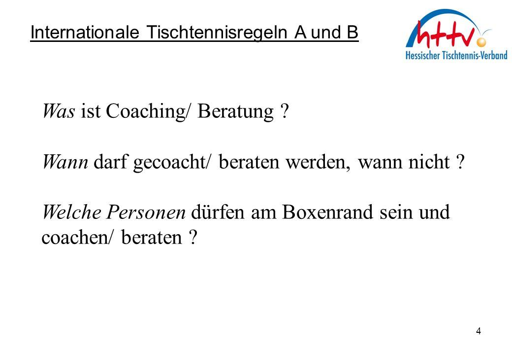 Was ist Coaching/ Beratung