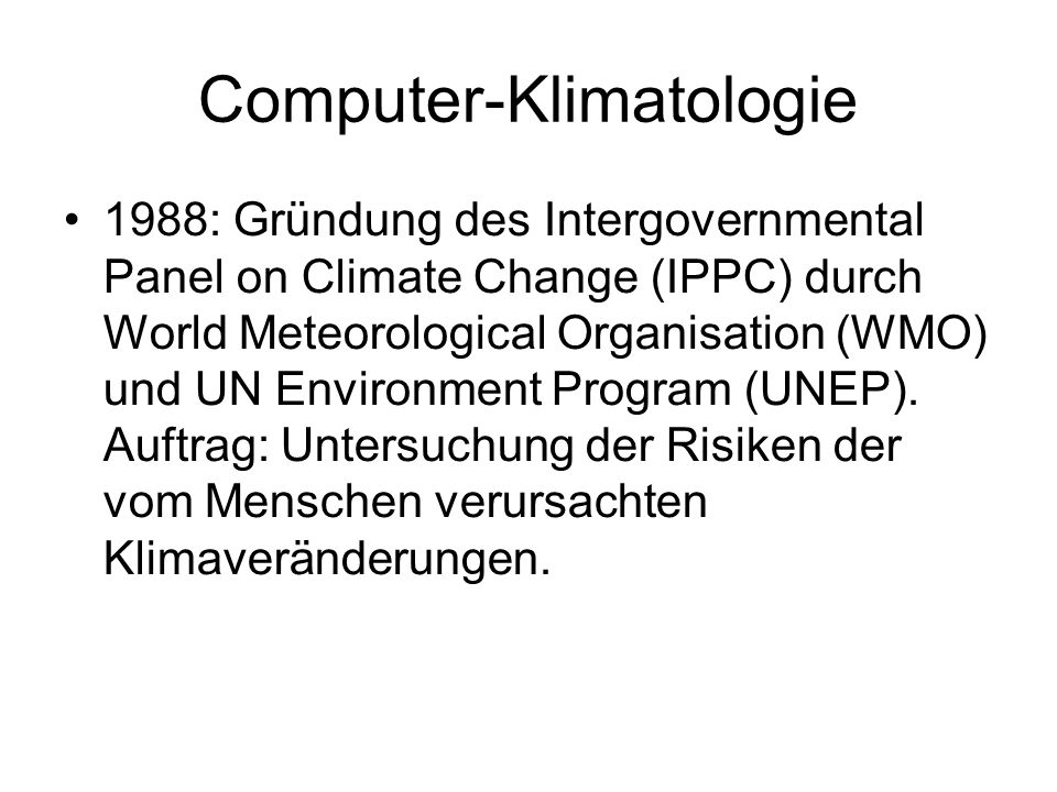 Computer-Klimatologie