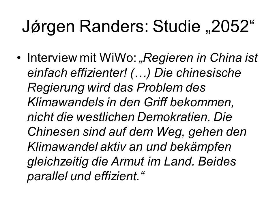 """Jǿrgen Randers: Studie """"2052"""