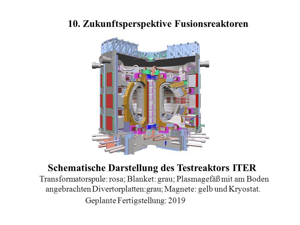 10. Zukunftsperspektive Fusionsreaktoren