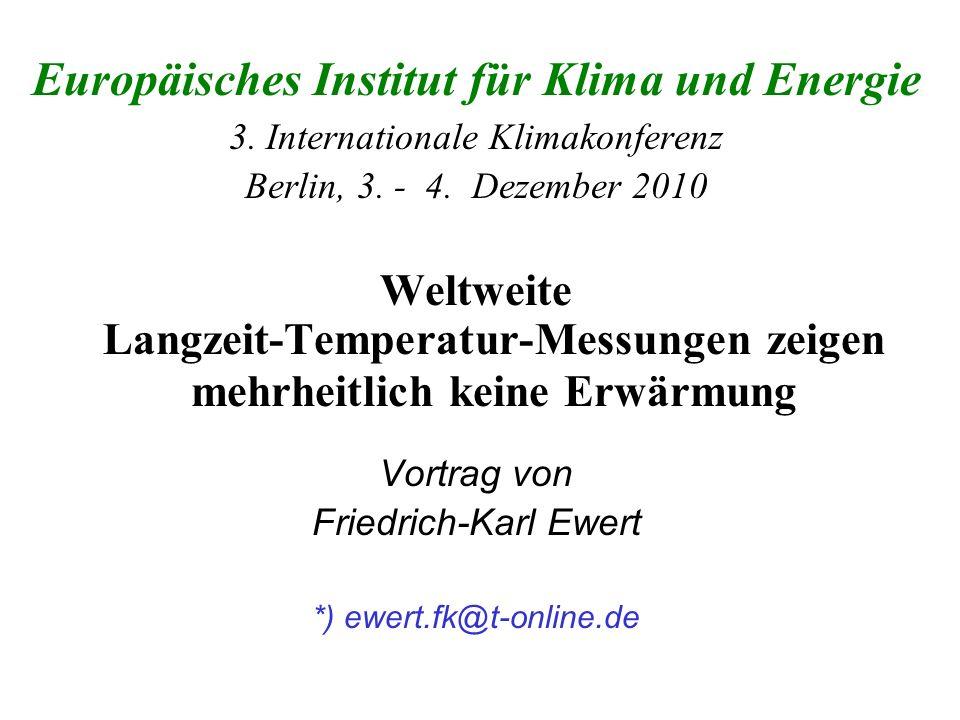Europäisches Institut für Klima und Energie