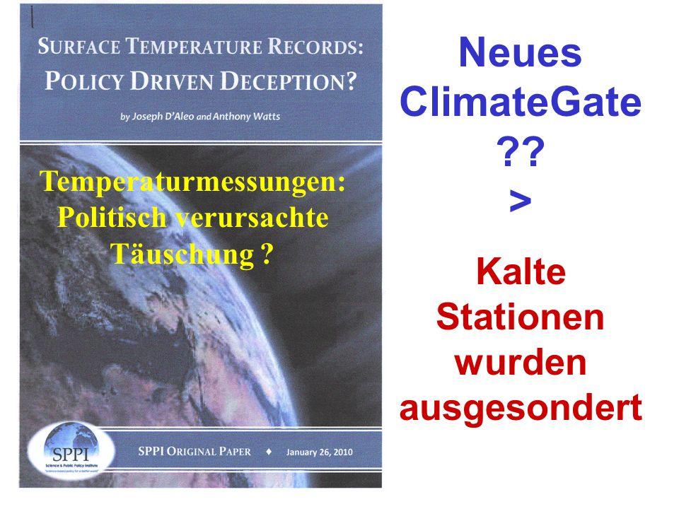 Neues ClimateGate >