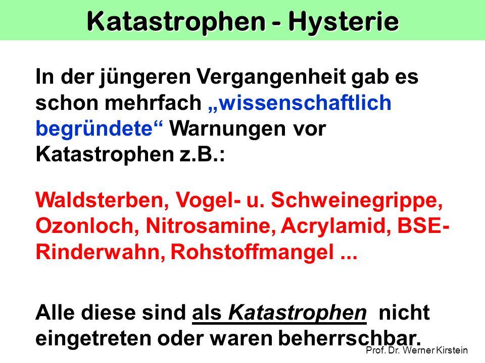 Katastrophen - Hysterie