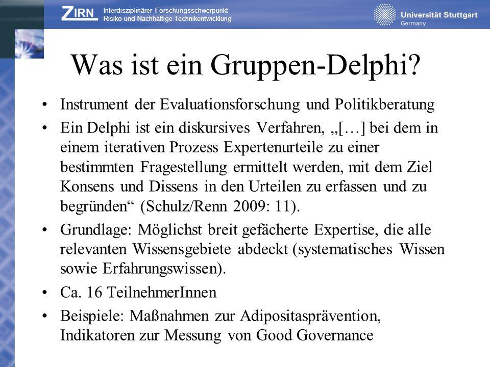 Was ist ein Gruppen-Delphi