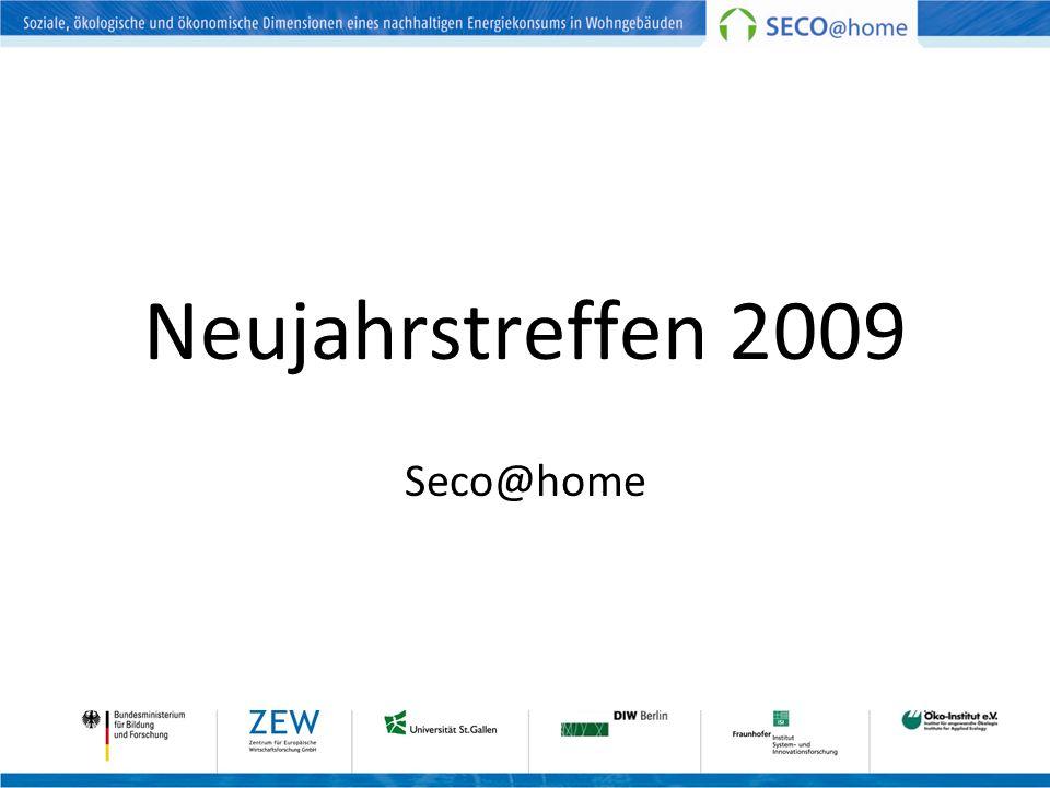Neujahrstreffen 2009 Seco@home