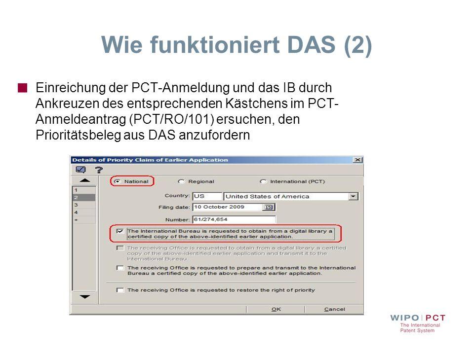 Wie funktioniert DAS (2)
