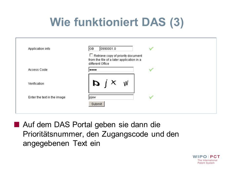 Wie funktioniert DAS (3)