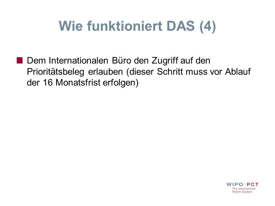 Wie funktioniert DAS (4)
