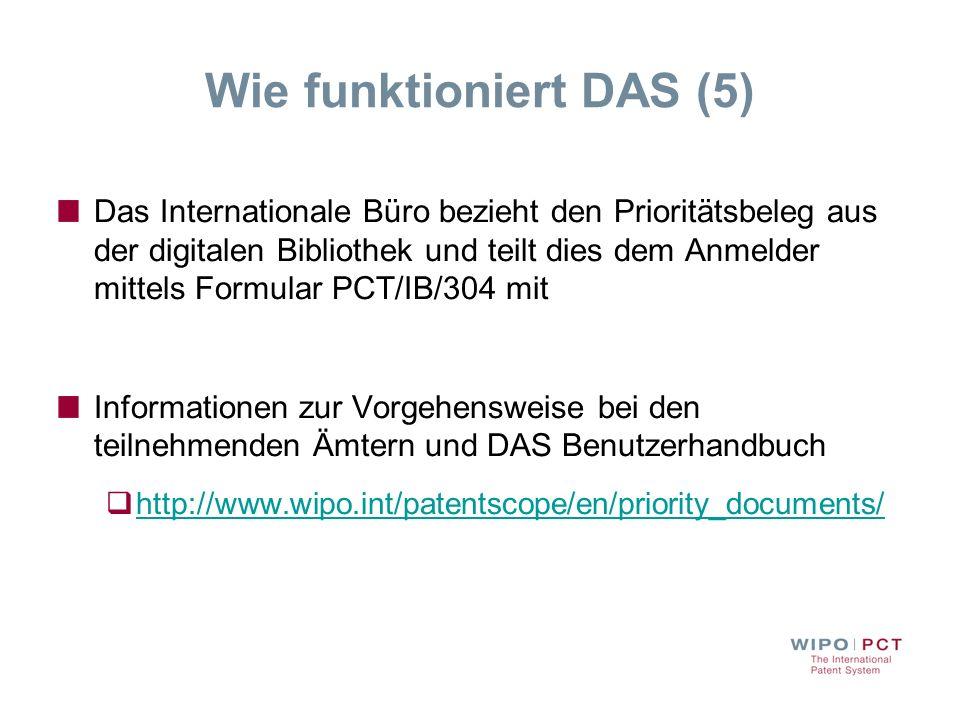 Wie funktioniert DAS (5)