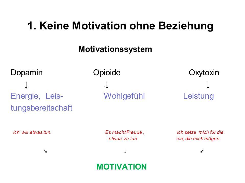 1. Keine Motivation ohne Beziehung