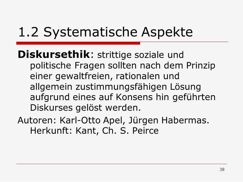 1.2 Systematische Aspekte