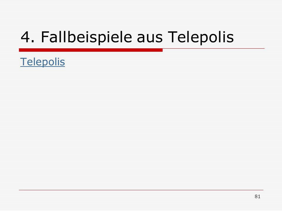 4. Fallbeispiele aus Telepolis