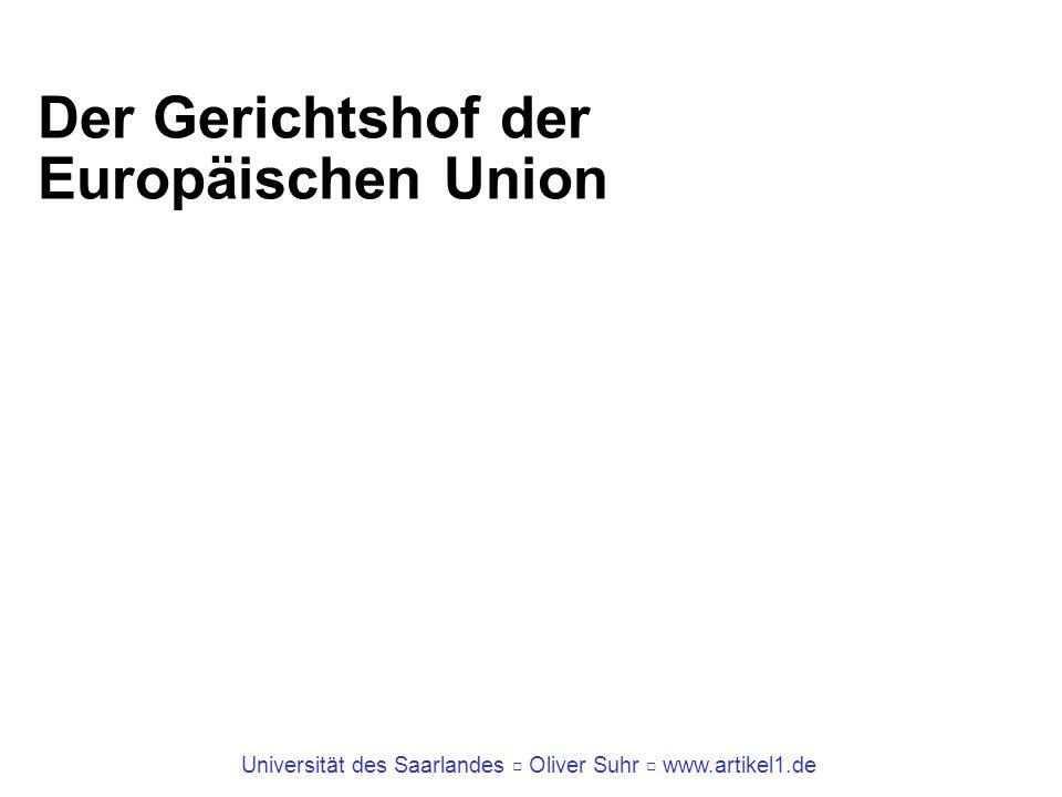Der Gerichtshof der Europäischen Union